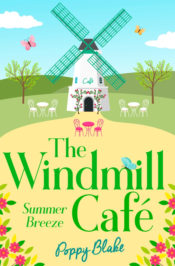 High Res Cover of The Windmill Cafe - Poppy Blake