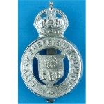 city-of-sheffield-police-cap-badge---pre-1952-with-kings-crown-chrome-plated-police-or-prisons-hat-badge