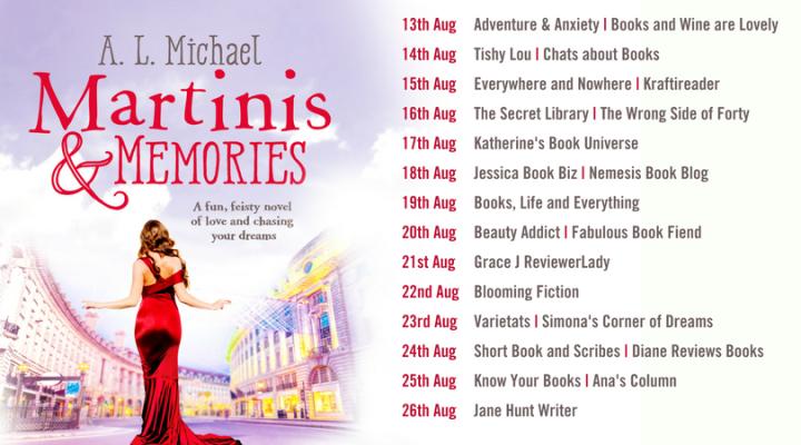 Martinis and Memories Blog Tour (Final)