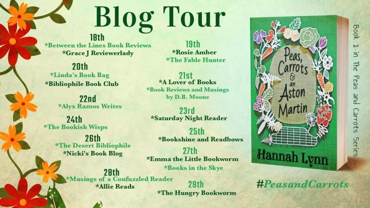 Peas Blog Tour Poster