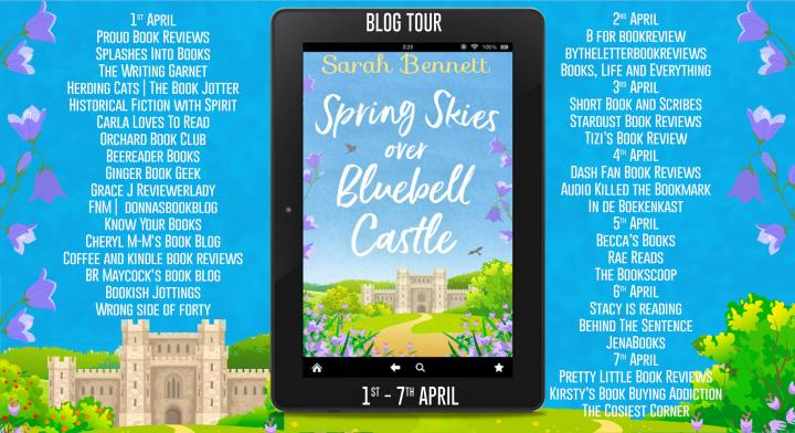 Spring Skies Over Bluebell Castle Full Tour Banner