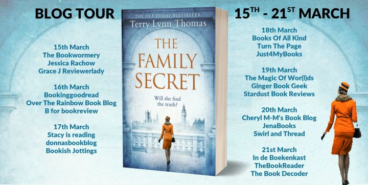 The Family Secret Full Tour Banner