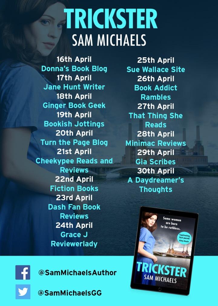 Trickster blog tour poster