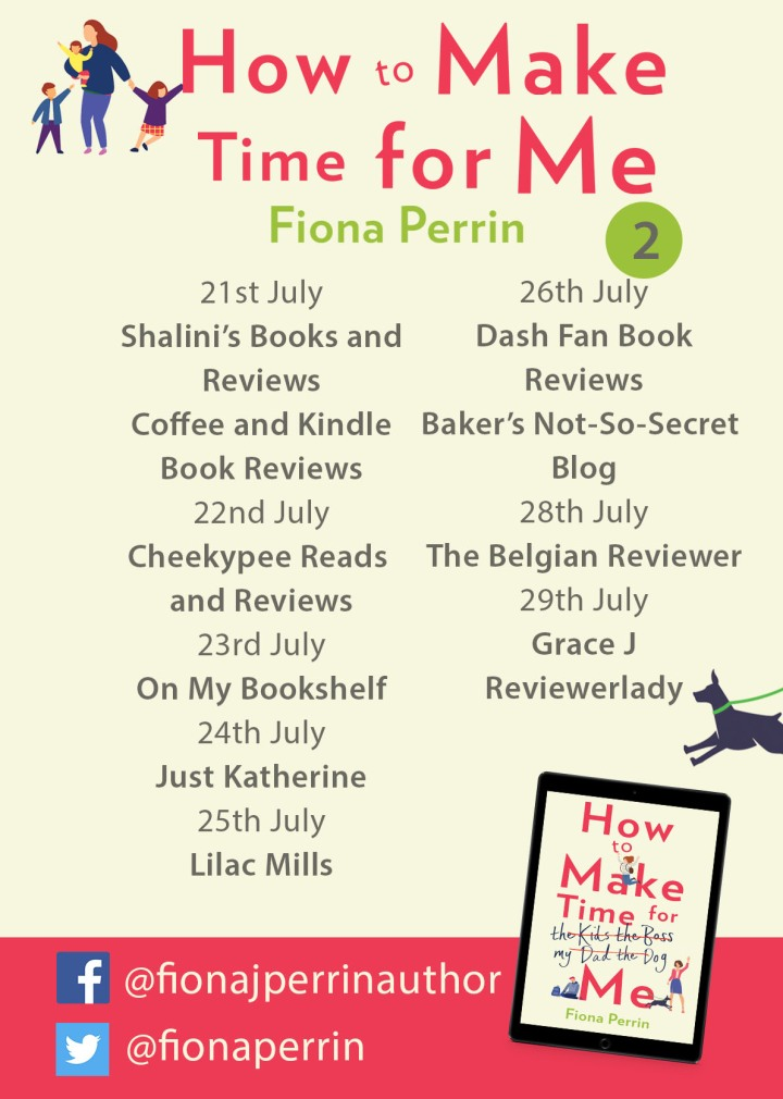 How to Make Time for Me Blog tour poster 2