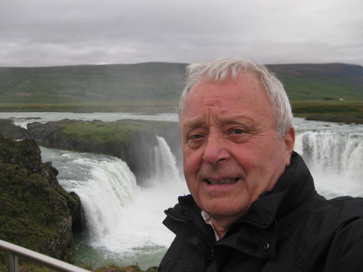 Me Waterfall iceland
