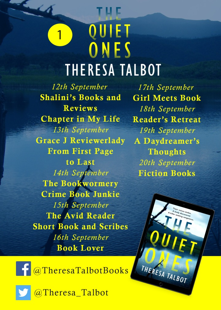 The Quiet Ones Blog Tour 1