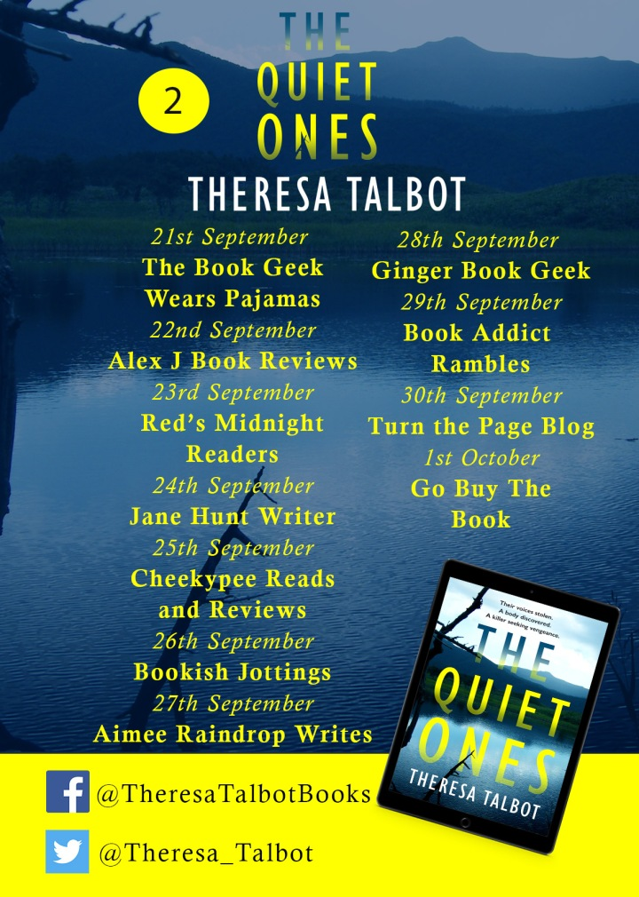 The Quiet Ones Blog Tour 2