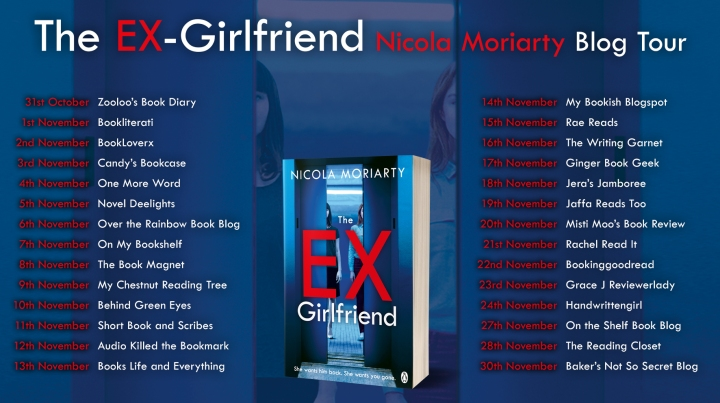 The Ex Girlfriend Blog Tour Card