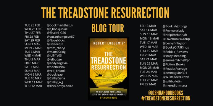 The Treadstone Resurrection Blog Tour