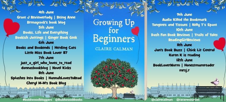 Growing Up For Beginners Full Tour Banner