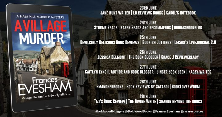 A Village Murder Full Tour Banner