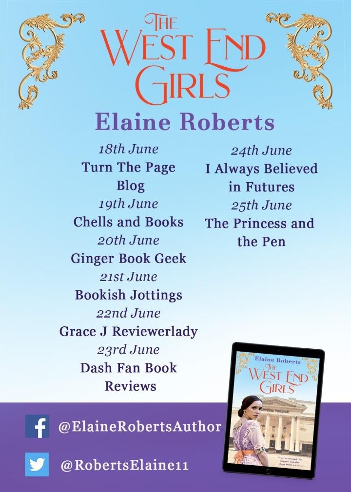 Elaine Roberts blog tour poster