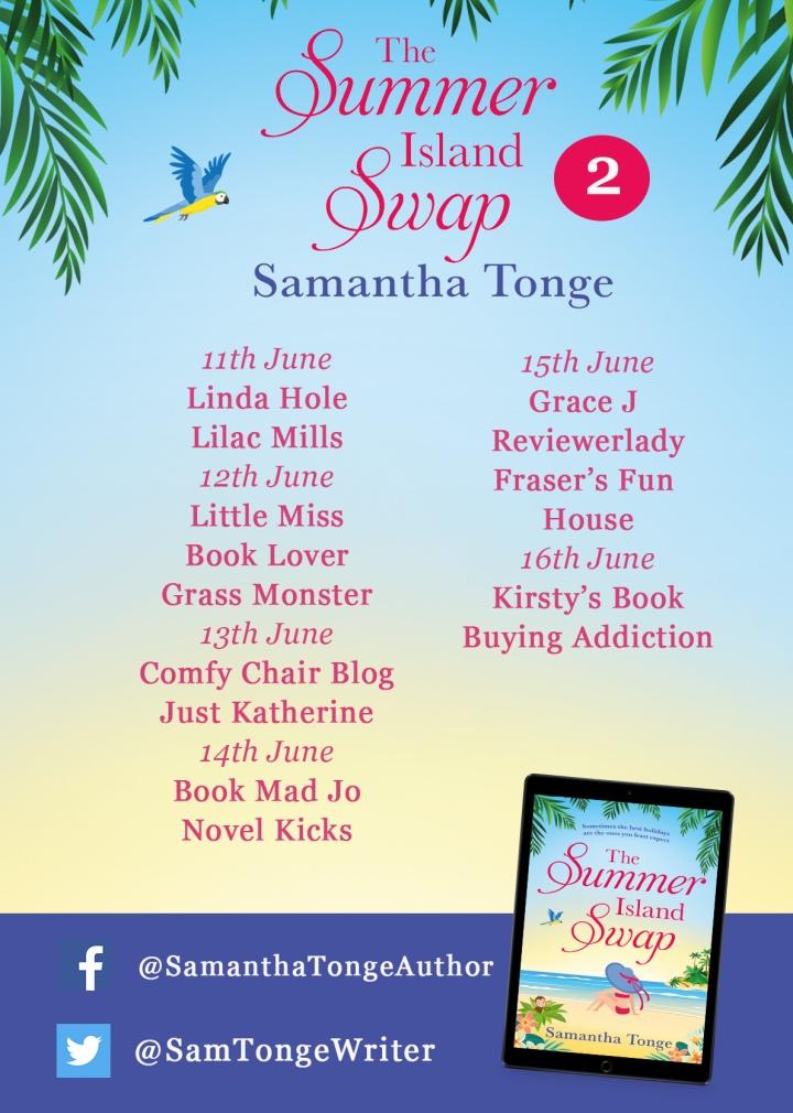 Tonge_The Summer Island Swap_Blog Tour Poster 2