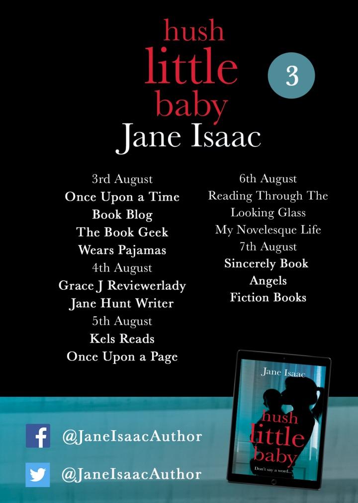 Isaac_Hush Little Baby_Blog tour poster 3