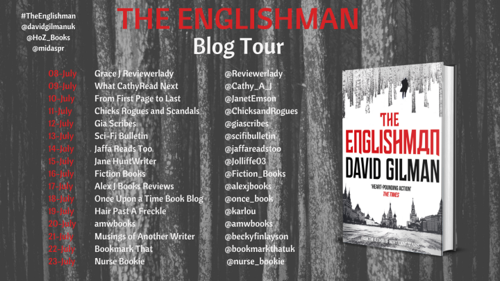 The Englishman Blog Tour Banner