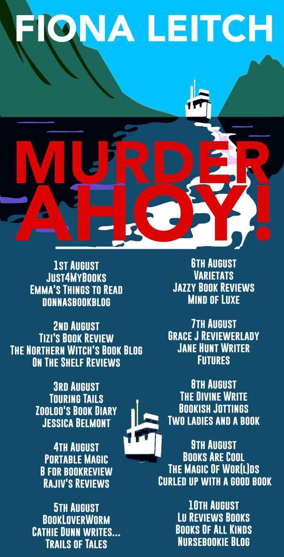 Murder Ahoy Full Tour Banner